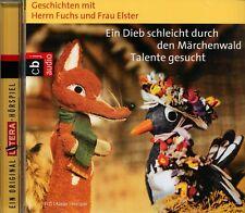 CD - Herr Fuchs und Frau Elster - Ein Dieb schleicht durch den Märchenwald / NEU