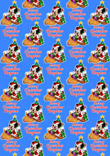 MICKEY MOUSE Personalised Christmas Gift Wrap - Mickey Mouse Wrapping Paper