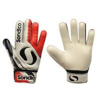 Sondico Match Junior Kids Goalkeeper Football Gloves All Sizes Red White R611-1