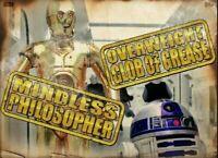 Topps Star Wars Card Trader Digital Burns Mindless Philosopher Overweight Gold