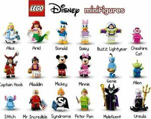 *YOU PICK* LEGO 71012 DISNEY Series 1 & 2 Minifigures Genie Mickey Anna Elsa 🔥