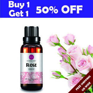 10ml 30ml Rose Essential Oils 100% Pure & Natural Essential Oil Fragrance Aroma