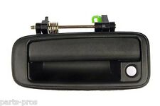 New Black Outside Door Handle LH FRONT / FOR 1988-92 TOYOTA COROLLA & GEO PRIZM