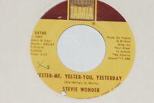 """STEVIE WONDER -Yester-Me, Yester-You, Yesterday- 7"""" 45 Tamla (T 54188)"""