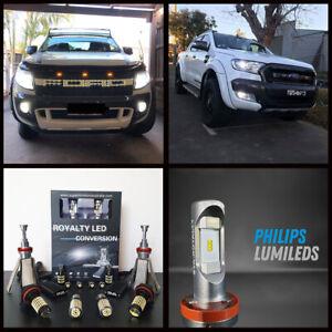 Ford Ranger PX2 MK2 2015-2018 White LED Headlight Bulbs Pack - XLT/Wildtrak/FX4