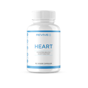 Revive MD Heart   Complete Heart Health Formula for Healthy Heart   90 Capsules