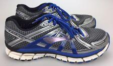 Mens BROOKS GTS 17 Seventeen Blue Silver Running Shoes Size 11.5 D
