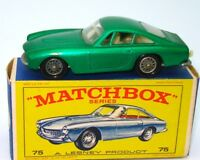 LESNEY MATCHBOX NO. 75 FERRARI BERLINETTA - MINT BOXED - RARE