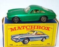 LESNEY MATCHBOX NO. 75 FERRARI BERLINETTA - MINT BOXED - RARE