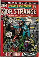Marvel Premiere #4 (Marvel 1972) VF+: Dr. Strange/Spawn of Sligguth