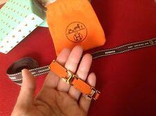 Classico Bracciale Arancione Hermes per polso SLIM
