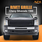 2007-2013 Chevy Silverado 1500 Rivet Mesh Steel Replacement Grille With Shell