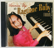 Warmin' Up With Ragtime Ruby Fradkin CD, RARE, CDF Productions, CA, Ruby Jaye