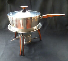 ~ vintage MID-CENTURY Vollrath CHAFING DISH Set ~ Circa 21 Table Service