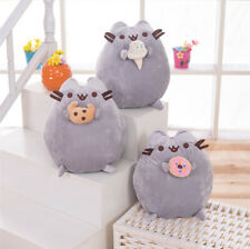 UK Pusheen The Cat - Pusheen With Cookie Plush Soft Toy Children's gift 24cm