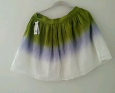 Benetton Flare Multi Color Mini Skirts Size 6, 8 and 12 Available