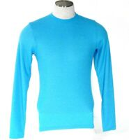 Under Armour Coldgear Blue Long Sleeve Thermal Shirt Men's Small S NWT