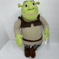 "Shrek Plush Universal Studios 4-D Dreamworks Animation 2003 Large 20"" NWT Doll"