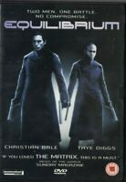 DVD EQUILIBRIUM CHRISTIAN BALE / TAYE DIGGS USED