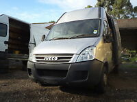 iveco daily 2.3 engine axle gearbox BREAKING CALL4PARTS  (passenger door)
