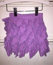💜 Lemon Loves Lime Ruffle Skirt Size 4