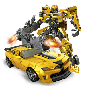 DE Transformers Optimus Prime Truck Transformation Bumblebee Spielzeug Kinder