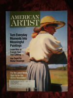 AMERICAN ARTIST Magazine February 2004 Jeffrey T. Larson Joan M Larue Jay Brooks