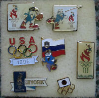 Lot of 21 OLYMPIC COLLECTOR PINS from 1996 ATLANTA 100 CENTENNIAL RARE
