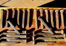 Vintage Railroad SpikesTrain Track Plate Nails Steampunk Art 6.5 & 7 Inch Choice