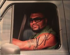 Quinton Rampage Jackson Signed 10x8 Photo - A Team