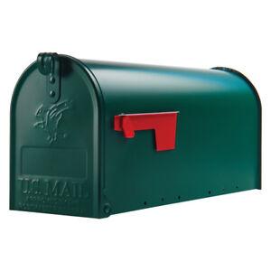 """Original US-Mailbox, Stahl, grün - """"Made in USA"""" - US Mailbox - Briefkasten"""