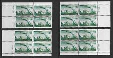 Canal Zone Sc 165 four matched plate blocks #173356, MNH, VF+