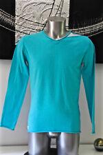 joli pull garçon en coton turquoise KAPORAL raldy taille 16 ans  EXCELLENT ÉTAT
