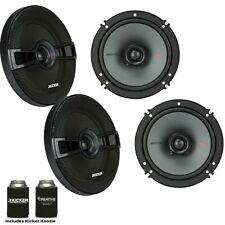 New listing Kicker Speaker Bundle Two pairs of Kicker 6.5 Inch Ks Series Speakers 44Ksc6504