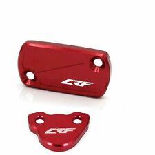 Front Rear Brake Reservoir Fluid Cover Cap For HONDA CRF150R CRF250R//X CRF450R