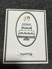 Lesbian Wedding Card...Handcrafted...Same Sex..... Stampin Up..Look!
