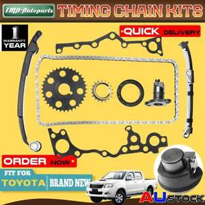 Timing Chain Kits With Gasket for Toyota HiAce RZH103 RZH113 RZH10 2.4L 2RZ-E