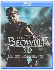 Beowulf Blu-ray 3D  Region Free Import, plays in English FREE SHIPPING