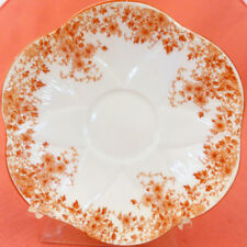 """DAINTY SIENNA by Shelley Tea Saucer 5.75"""" NEW NEVER USED made in England"""