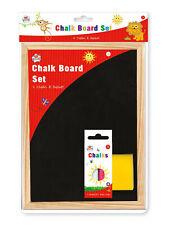 Kids Create A4 Craie Tableau 4 Pièces De & Chiffon Enfants Art Artisanat