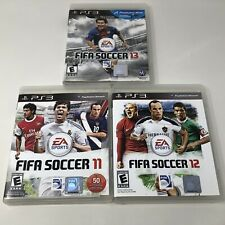 FIFA Soccer 11, 12 & 13 Sony PlayStation 3 PS3 Video Game Complete Tested CIB