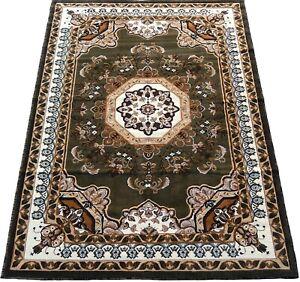 "6x8 Area Rug Floral octagon shape Carpet Floor Covering Home Decor (5'2 x 7'2"")"