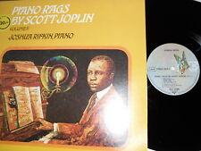 Scott Joplin-piano rags by scott Joplin vol. II, vinyle, Germany'72, M -