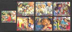 New Zealand 1994 Christmas/Family 7v set (n20637)