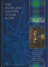 National Piping Centre Tutor Beginner Book and CD Learn to Play Bagpipes