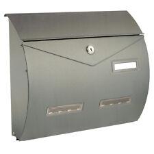 Cassetta posta ALUBOX BUSTA ARGENTO in alluminio pressofuso verniciat