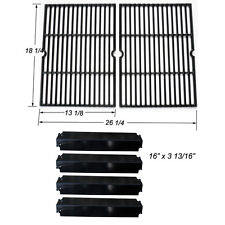 Charbroil Grill Rebuild Kit Replacement Cooking Grill Grates and Heat Plates