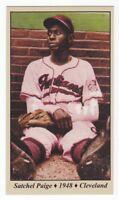 Satchel Paige - '48 Cleveland Indians & Negro League Tobacco Road series #13