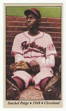 Satchel Paige - 1948 Cleveland Indians & Negro League Tobacco Road series #13