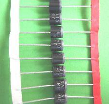 100 x 6A10 = P600M Silizium-Power Dioden 1000V/6A gegurtet  MIC